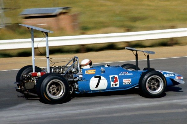 Winner, Jackie Stewart(GBR) Matra MS10