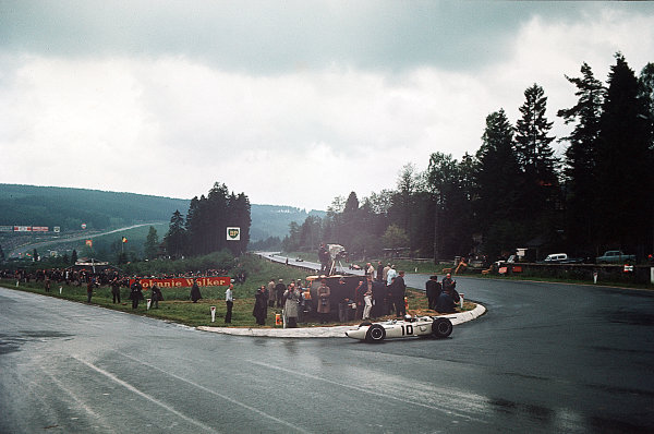 Spa-Francorchamps, Belgium.11-13 June 1965.Richie Ginther (Honda RA272) 6th position.Ref-65 BEL 03.World Copyright - LAT Photographic
