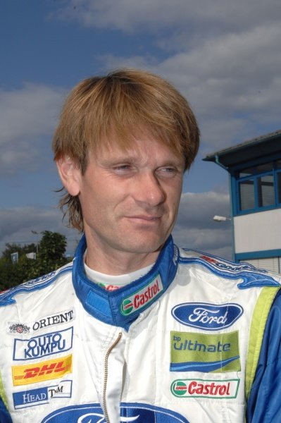 Marcus Gronholm (FIN), Ford, at the remote service zone.World Rally Championship, Rd10, ADAC Rallye Deutschland, Trier, Germany. Day Two, Saturday 18 August 2007.