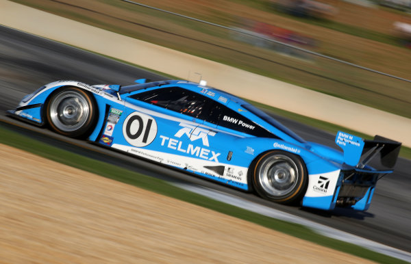 18-20 April, 2013, Braselton, Georgia USA The #01 BMW Riley of Scott Pruett and Memo Rojas is shown in action. ©2013, R D. Ethan LAT Photo USA