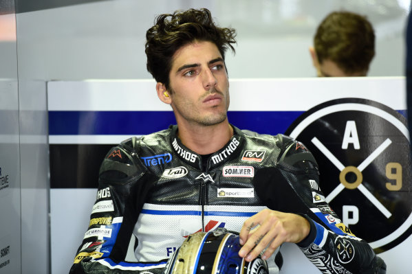 2017 Moto2 Championship - Round 13 Misano, Italy. Friday 8 September 2017 Edgar Pons, Pons HP 40 World Copyright: Gold and Goose / LAT Images ref: Digital Image 7477