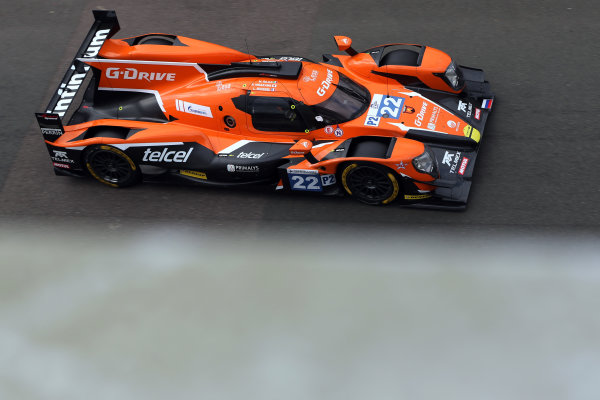 2017 European LeMans Series, Silverstone, 13th-15th April 2017, Memo Rojas (MEX) / Ryo Hirakawa (JPN) / L?o Roussel (FRA) - G-DRIVE RACING - Oreca 07 - Gibson World Copyright. JEP/LAT Images