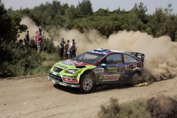 2008 FIA World Rally ChampionshipRound 07Acropolis Rally  200829/5-1/6  2008Jari-Matti Latvala, Ford WRC, Action