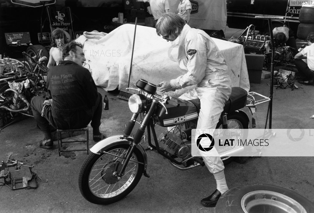 Osterreichring, Austria. 19 October 1973.