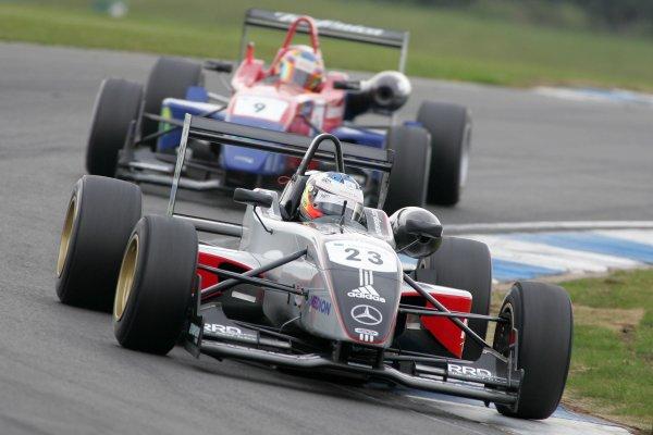 2007 British Formula Three Championship,Donington Park 21st-22nd April 2007,Maro Engel (GER) Carlin Motorsport Dallara MercedesWorld copyright: Ebrey/LAT Photographic.