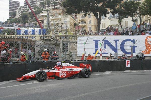 2007 GP2 Series. Round 3. Saturday Race.Monte-Carlo, Monaco. 26th May 2007.Jason Tahinci (TUR, Petrol Ofisi FMS International). Action. World Copyright: Andrew Ferraro/GP2 Series Media Service ref: Digital ImageZP9O1099