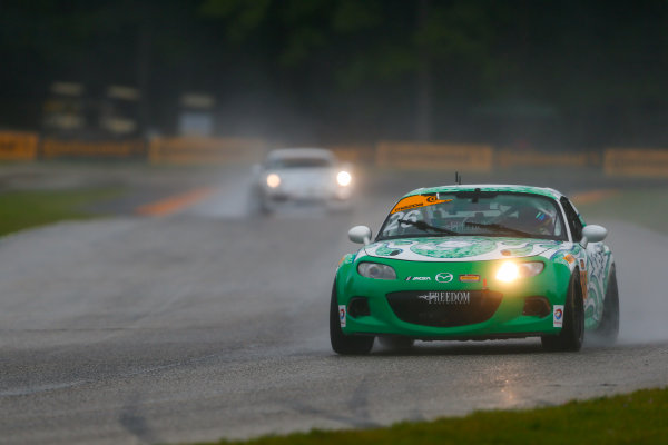 IMSA Continental Tire SportsCar Challenge Road America 120 Road America, Elkhart Lake, WI USA Friday 4 August 2017 26, Mazda, Mazda MX-5, ST, Andrew Carbonell, Liam Dwyer World Copyright: Jake Galstad LAT Images