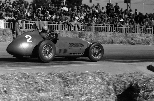 Alberto Ascari, Ferrari 375.