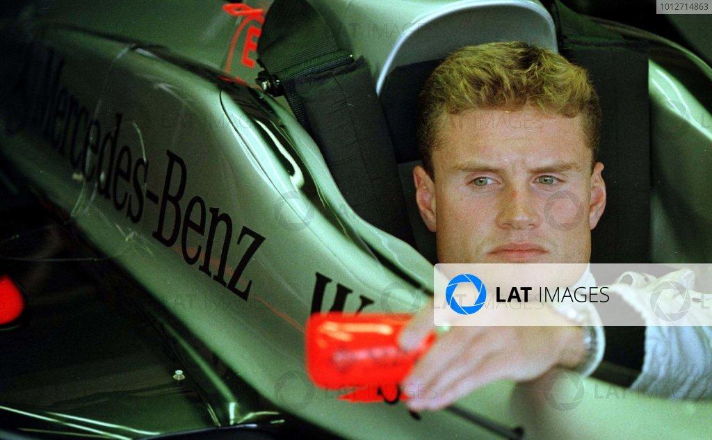 1997 San Marino Grand Prix.Imola, Italy.25-27 April 1997.David Coulthard (McLaren Mercedes-Benz).World Copyright - LAT Photographic