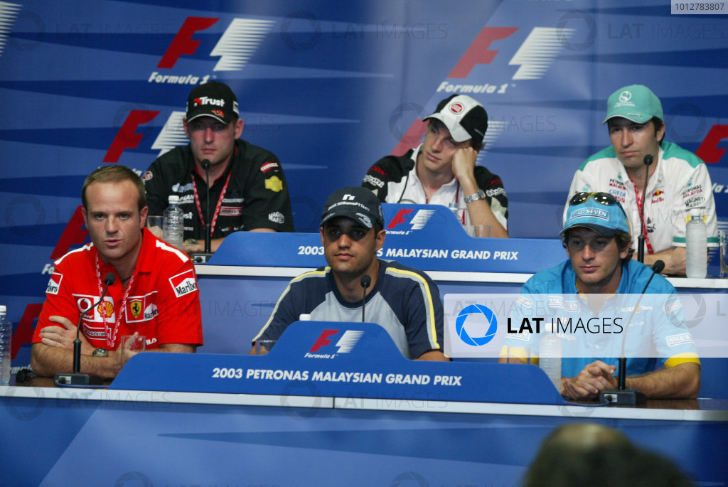 2003 Malaysian Grand Prix - Thursday