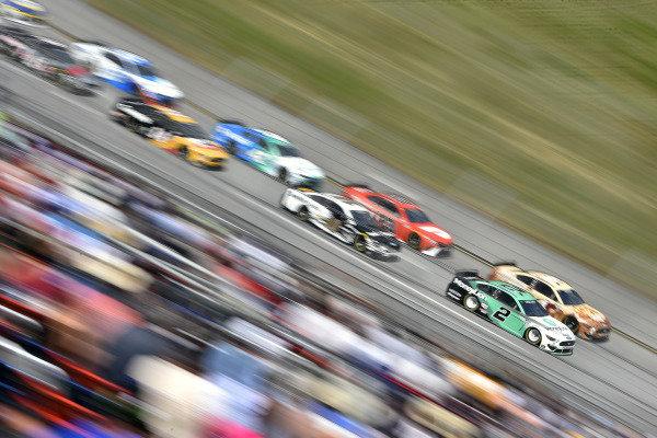 #2: Brad Keselowski, Team Penske, Ford Mustang MoneyLion and #4: Kevin Harvick, Stewart-Haas Racing, Ford Mustang Busch Dog Brew
