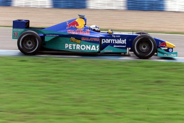 Jerez, Spain. 7th December 2000Kimi Raikkonen - Sauber PetronasWorld Copyright - Bellanca/LAT Photographic