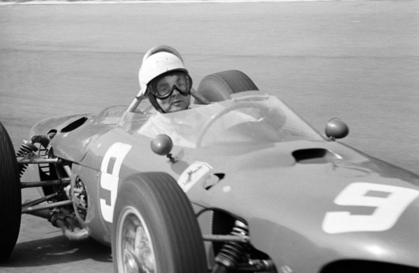 Phil Hill, Ferrari 156.