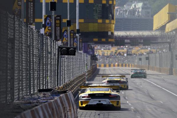 #99 ROWE Racing Porsche 911 GT3 R: Laurens Vanthoor                .