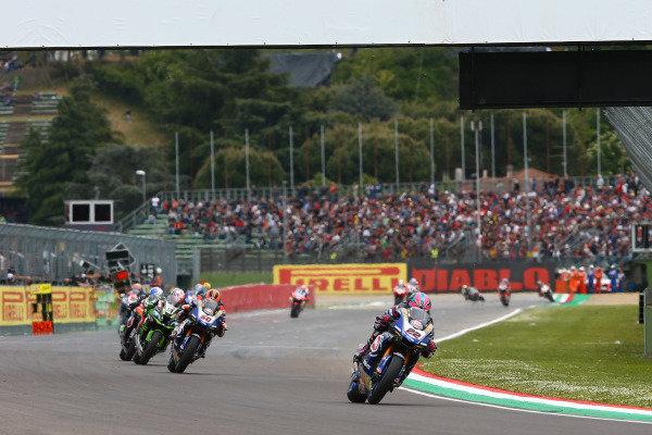Alex Lowes, Pata Yamaha, Michael van der Mark, Pata Yamaha.