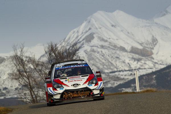 Elfyn Evans (GBR), Toyota Gazoo Racing, Toyota Yaris WRC 2020