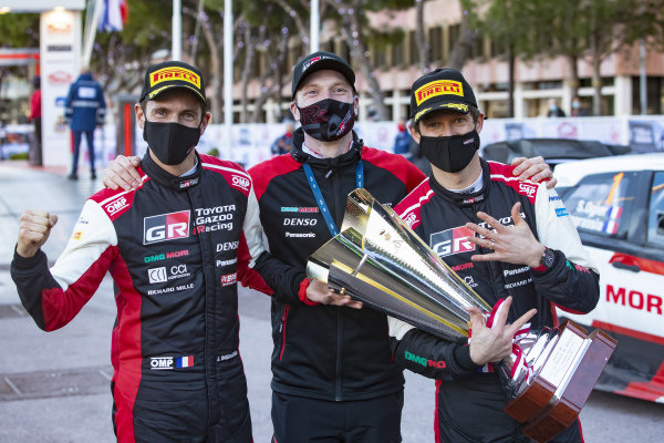 Sébastien Ogier (FRA), Julien Ingrassia (FRA), Jari-Matti Latvala (FRA),Toyota Gazoo Racing WRT, Toyota Yaris WRC 2021