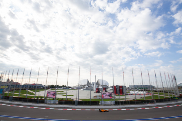 SOCHI AUTODROM, RUSSIAN FEDERATION - SEPTEMBER 27: Alessio Deledda (ITA, Campos Racing) during the Sochi at Sochi Autodrom on September 27, 2019 in Sochi Autodrom, Russian Federation. (Photo by Joe Portlock / LAT Images / FIA F3 Championship)