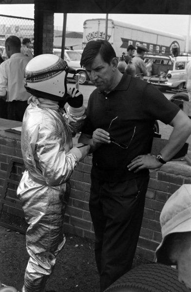 Jackie Stewart and Ken Tyrrell.