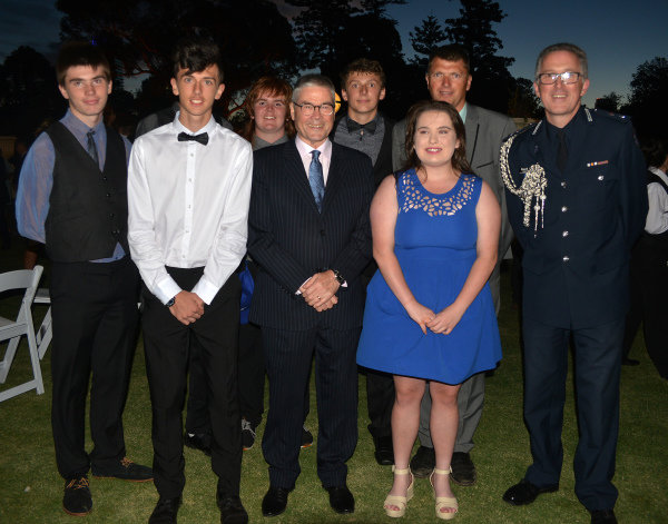 Beacon Organisation Members at Official Grand Prix Welcome Reception at Government House at Formula One World Championship, Rd1, Australian Grand Prix, Preparations, Albert Park, Melbourne, Australia, Thursday 23 March 2017.