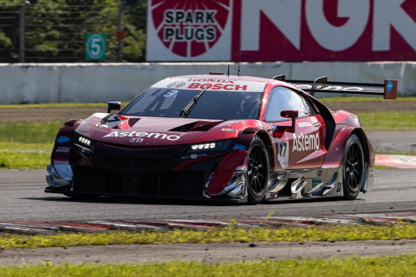 Koudai Tsukakoshi & Bertrand Baguette, Astemo Real Racing Honda NSX-GT GT500, 3rd in GT500