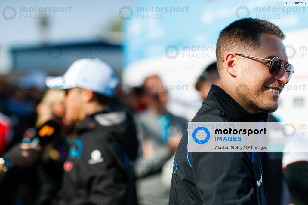 Stoffel Vandoorne (BEL), Mercedes Benz EQ Formula, talks to the press