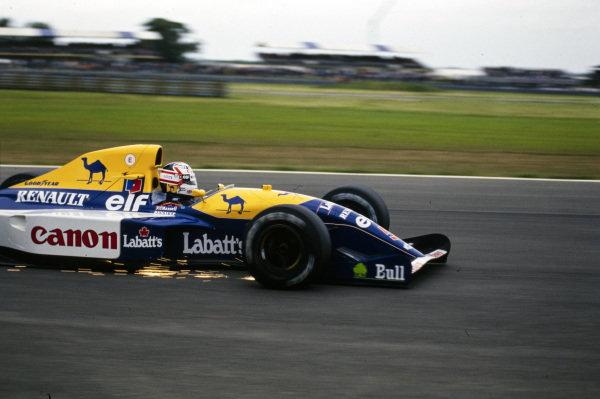 Nigel Mansell, Williams FW14B Renault.