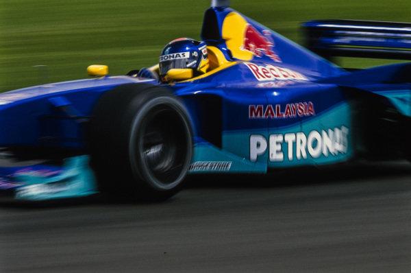 Pedro Diniz, Sauber C18 Petronas.