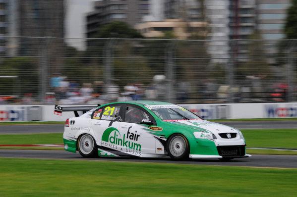 Albert Park Street Circuit, Melbourne, Australia.26th - 28th March 2010.Brad Jones Racing, Car 21, Holden Commodore VE, Karl Reindler, Team BOC.World Copyright: Mark Horsburgh/LAT Photographicref: Digital Image 21-Reindler-F1-10-m02201