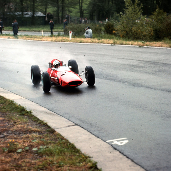 Spa-Francorchamps, Belgium.11-13 June 1965.John Surtees (Ferrari 158).Ref-3/1699.World Copyright - LAT Photographic