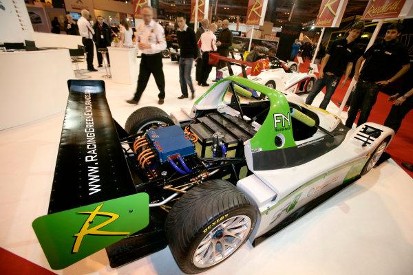 NEC, Birmingham. 14th January 2010.The Radical SRZero electric car.World Copyright: Drew Gibson/LAT Photographicref: Digital Image _Y2Z5282