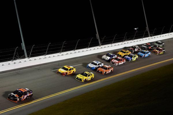 12-13 February, 2016, Daytona Beach, Florida, USA Denny Hamlin, FedEx Express Toyota Camry (11), Joey Logano (22), Matt Kenseth, Dollar General Toyota Camry (20) ?2016, John Harrelson / LAT Photo USA