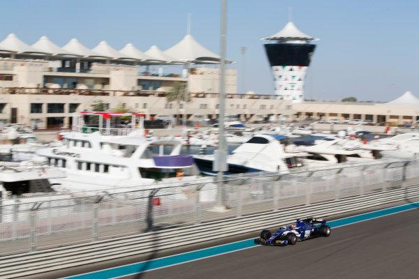 Yas Marina Circuit, Abu Dhabi, United Arab Emirates. Wednesday 29 November 2017. Charles Leclerc, Sauber C36 Ferrari.  World Copyright: Joe Portlock/LAT Images  ref: Digital Image _L5R9861