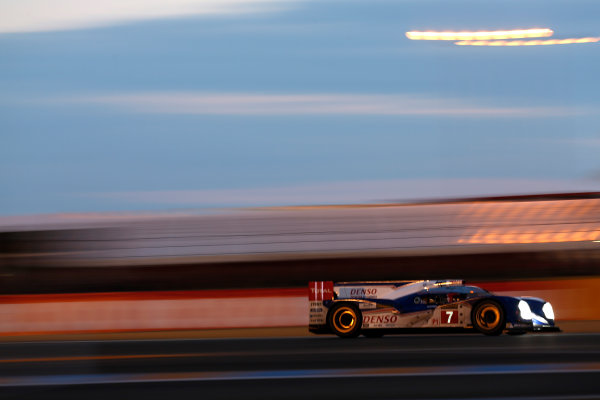 Circuit de La Sarthe, Le Mans, France. 19th - 23rd June 2013. Alexander Wurz/Nicolas Lapierre/Kazuki Nakajima, Toyota Racing, No.7 Toyota TS030 HYBRID.. Alastair Staley/  ref: Digital Image _R6T2297