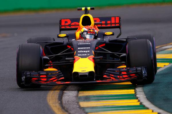 Albert Park, Melbourne, Australia. Saturday 25 March 2017. Max Verstappen, Red Bull Racing RB13 TAG Heuer.  World Copyright: Steven Tee/LAT Images ref: Digital Image _R3I0266