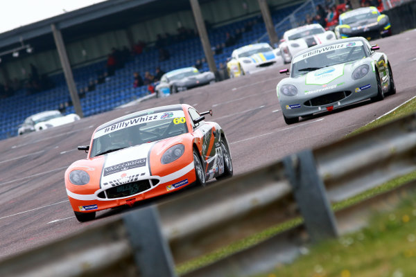 2017 Ginetta GT5 Championship Thruxton, 6th-7th May 2017,  Geri Nicosia  World copyright. JEP/LAT Images