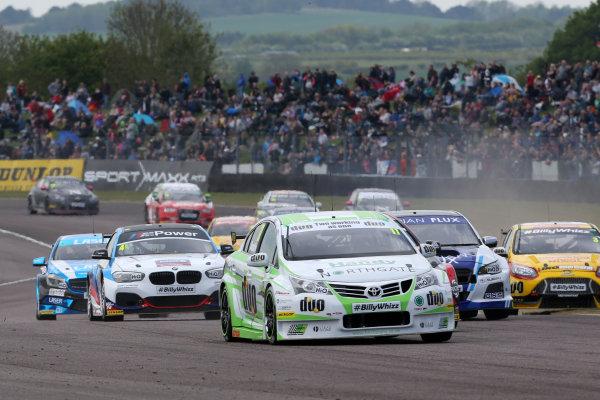 2017 British Touring Car Championship, Thruxton, 6th-7th May 2017,  Rob Austin (GBR) Handy Motorsport Toyota Avensis World copyright. JEP/LAT Images