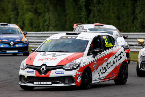 2017 Renault Clio Cup, Oulton Park, 20th-21st May 2017, Nathan Harrison (GBR) JamSport Racing Renault Clio Cup World copyright. JEP/LAT Images