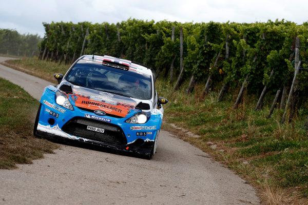 Round 09-Rallye Deutschland 23-26/8-2012.Mads Ostberg, Ford WRC, Action.Worldwide Copyright: McKlein/LAT