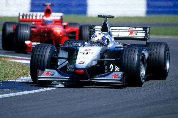 Silverstone, England.9th - 11th July 1999. Rd 8.xxxWorld Copyright: LAT PhotographicRef: 99GB18