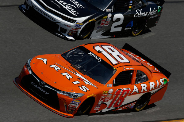 20-21 February 2015, Daytona Beach, Florida, USA  Daniel Suarez, Arris Toyota Camry ©2015, Michael L. Levitt LAT Photo USA