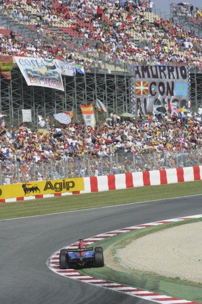 2007 GP2 Series. Round 2. Sunday RaceBarcelona, Spain. 13th May 2007. Timo Glock (GER, iSport International). Action. World Copyright: Andrew Ferraro/GP2 Series Media Sevice  ref: Digital Image ZP9O7126