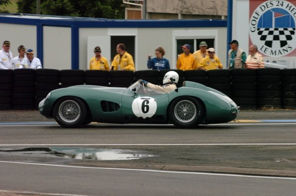 2007 Le Mans 24 Hours, Le Mans, France11th-17th June. Adrian Beecroft in 1958 Aston Martin DBR1. Worldwide copyright: Dave Friedman/LAT PhotographicRef; Digital Image Only