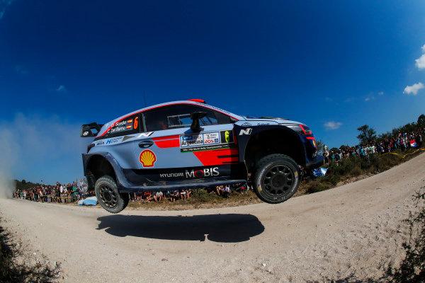 Flying high on Rally Argentina is Dani Sordo