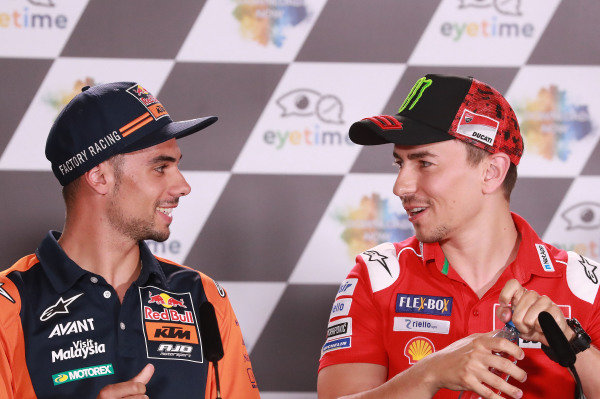 Miguel Oliveira, Red Bull KTM Ajo, Jorge Lorenzo, Ducati Team.