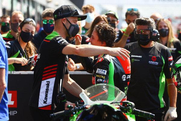 Jonathan Rea, Kawasaki Racing Team WorldSBK, Ana Carrasco.