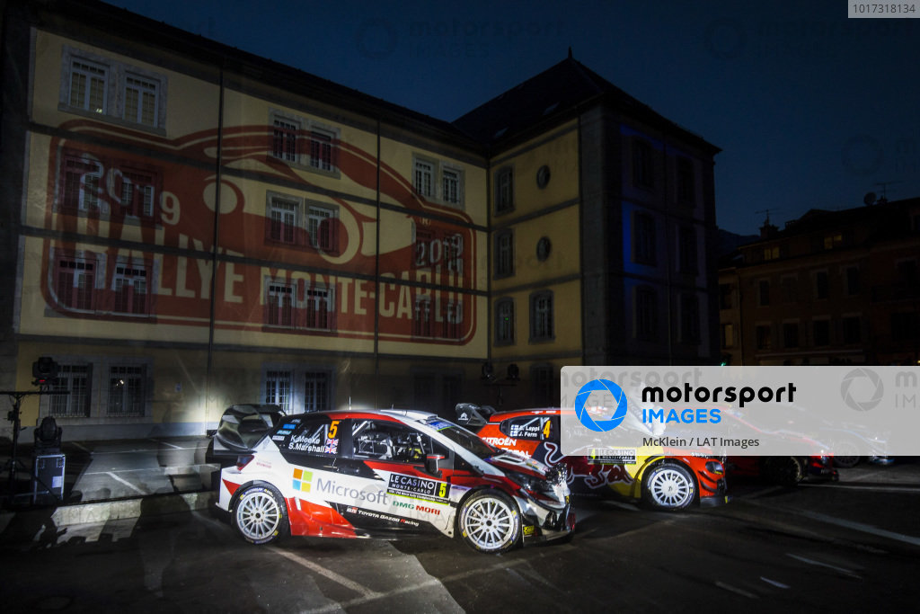 Atmosphere before the start of Rallye Monte Carlo 2019