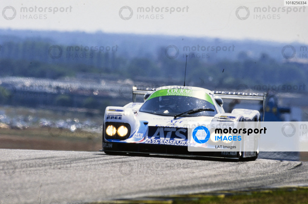 Henri Pescarolo / Alain Fertè / Franck Lagorce, Courage Compètition, Courage C32LM - Porsche 935/82.