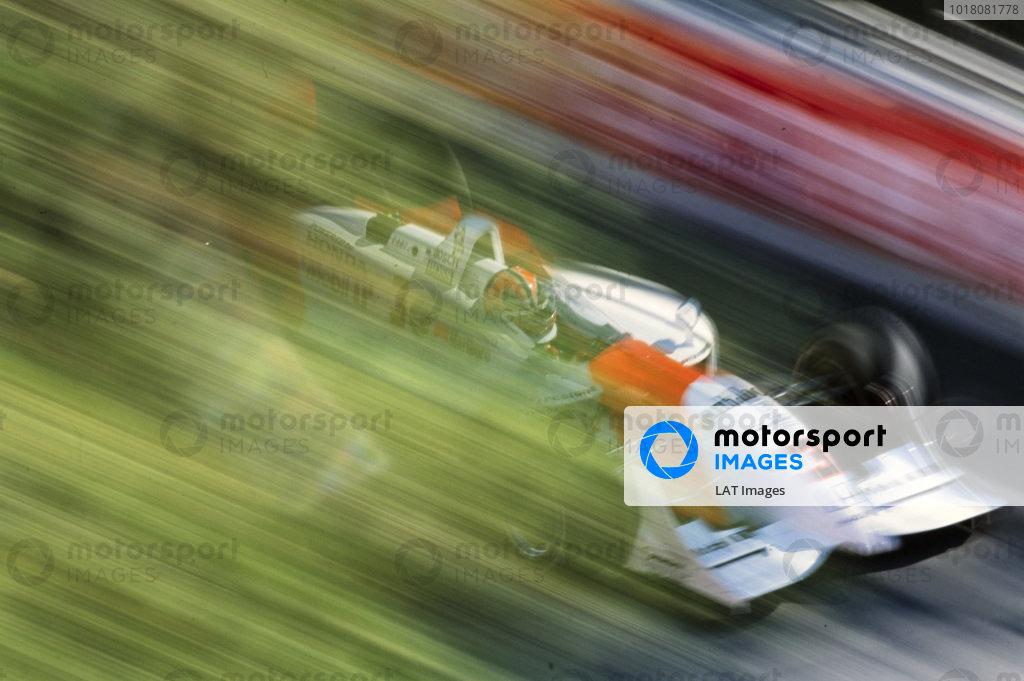 Hélio Castroneves, Team Penske, Reynard 01i Honda.