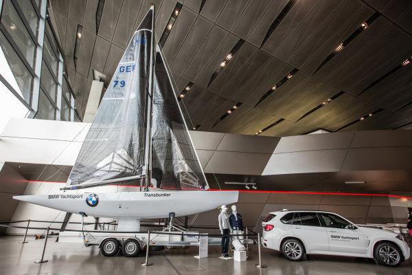 BMW Yachtsport display
